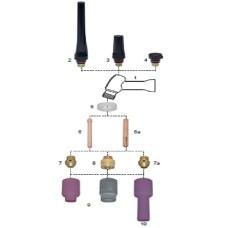 Consumable parts Tig torche 18SC