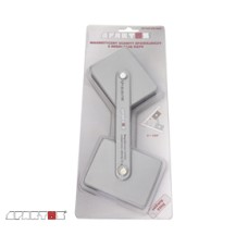 Magnetic holder with adjustable angle.